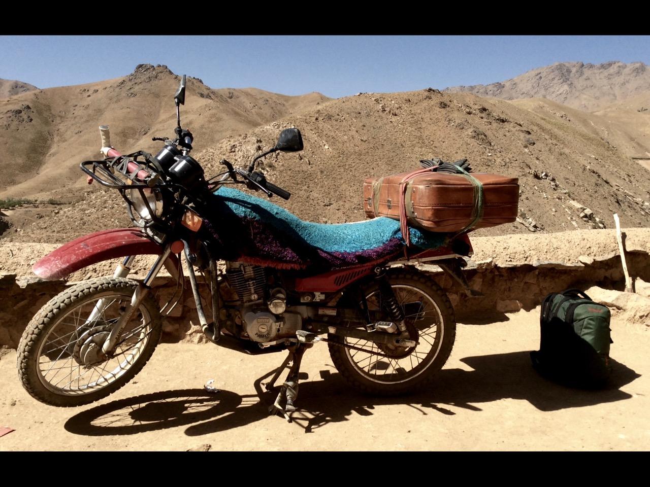 Motorcycle with BORDERLINE equipment